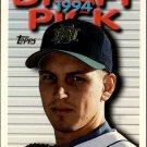 1995 Topps 406 Doug Webb RC