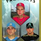 1999 Topps 433 Adam Kennedy/Mickey Lopez RC/Jackie Rexrode RC