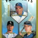 1999 Topps 434 Jose Fernandez RC/Jeff Liefer/Chris Truby RC
