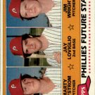 1981 Topps 526 Marty Bystrom RC/Jay Loviglio RC/Jim Wright