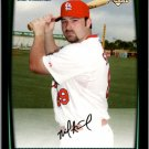 2008 Bowman Draft BDP49 Nick Stavinoha RC