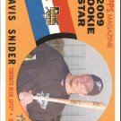 2009 Topps Heritage 148 Travis Snider RC