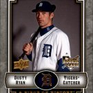 2009 UD A Piece of History 132 Dusty Ryan RC