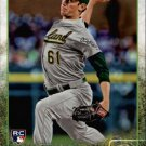 2015 Topps 580 Chris Bassitt RC