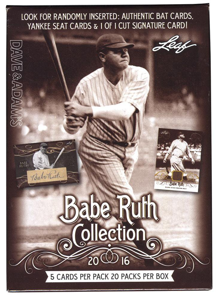 2016 Leaf Babe Ruth Collection