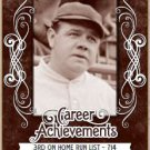 2016 Leaf Babe Ruth Collection Career Achievements