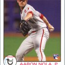 2016 Topps Archives 193 Aaron Nola RC