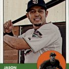 2012 Topps Heritage 442 Jason Bartlett SP