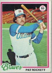 1978 Topps 502 Pat Rockett RC