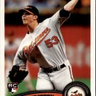 2011 Topps 418 Zach Britton RC