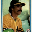 1981 Topps 461 Dave McKay RC