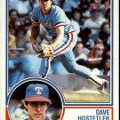 1983 Topps 584 Dave Hostetler RC