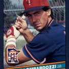 1986 Donruss 598 Steve Lombardozzi RC