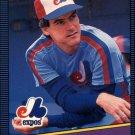 1986 Donruss 421 Tim Burke RC