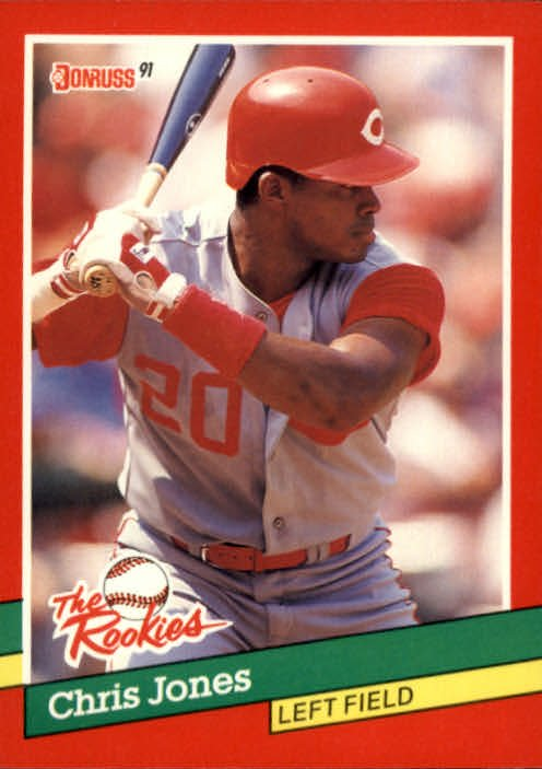 1991 Donruss Rookies 50 Chris Jones RC