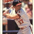 1992 Donruss Rookies 30 Chad Curtis RC