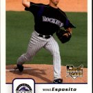 2006 Fleer 320 Mike Esposito (RC)