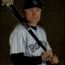 2007 Topps Chrome 329 Jeff Baker (RC)