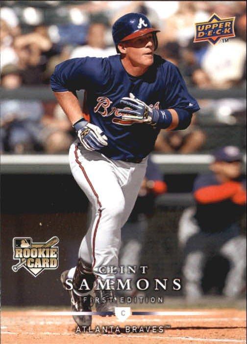 2008 Upper Deck First Edition 290 Clint Sammons (RC)