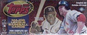 2000 Topps Baseball Complete Set