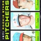 1971 Topps 664 Rookie Stars/Archie Reynolds RC/Bob Reynolds RC/Ken Reynolds RC SP