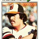 1977 Topps 646 Andres Mora RC