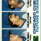 1982 Topps 51 Jay Howell RC/Carlos Lezcano/Ty Waller RC