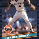 1986 Donruss 182 Jeff Heathcock RC