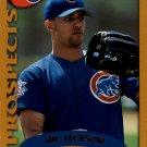 2002 Topps 324 Nic Jackson PROS RC