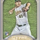 2012 Topps Gypsy Queen 114 Brad Peacock RC