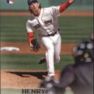 2016 Stadium Club 147A Henry Owens RC