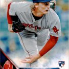 2016 Topps 109 Henry Owens RC