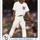 2016 Topps Archives 123 Luis Severino RC