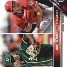 2016 Topps Update US63 Greg Mahle RC/Andrew Triggs RC