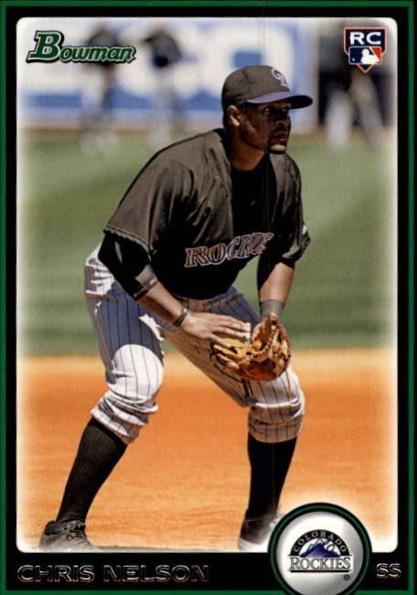 2010 Bowman Draft BDP24 Chris Nelson (RC)