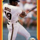 1990 Score Rookie Traded 2T Kevin Bass