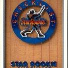 1991 Upper Deck 1 Star Rookie Checklist