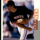 1998 Score Rookie Traded 202 Robb Nen