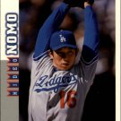 1998 Score Rookie Traded 26 Hideo Nomo