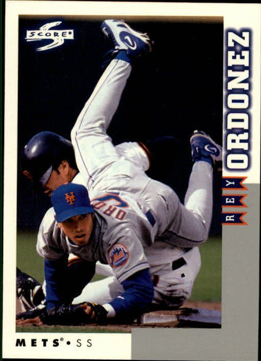 1998 Score Rookie Traded 83 Rey Ordonez