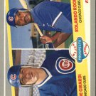 1989 Fleer 644 Joe Girardi RC and/Rolando Roomes RC