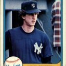 1981 Fleer 107 Mike Griffin RC