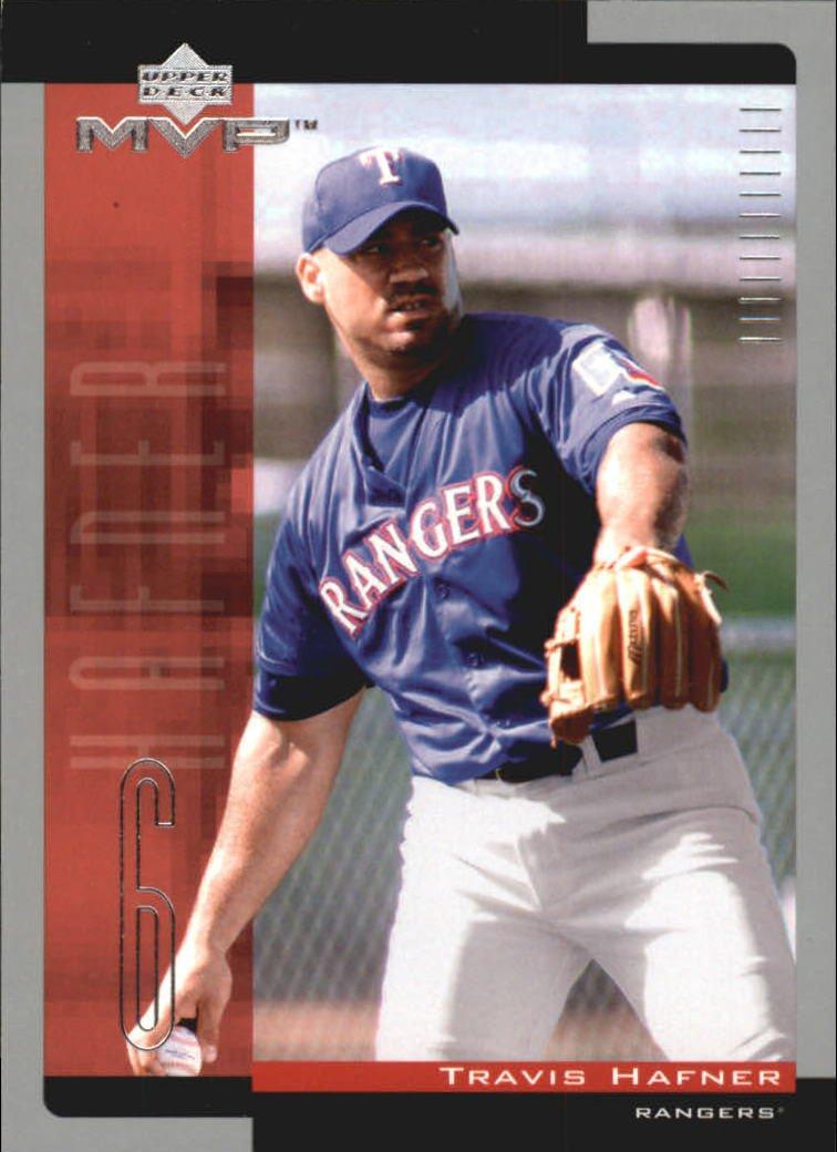 2001 Upper Deck MVP 88 Travis Hafner RC