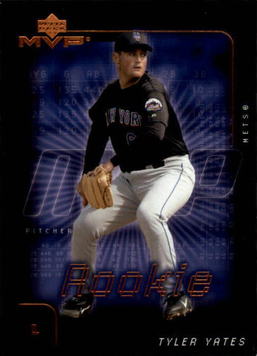 2002 Upper Deck MVP 245 Tyler Yates RC