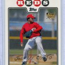 2008 Topps 476 Johnny Cueto RC