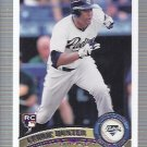 2011 Topps 554 Cedric Hunter RC