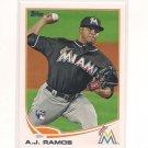2013 Topps 175 A.J. Ramos RC