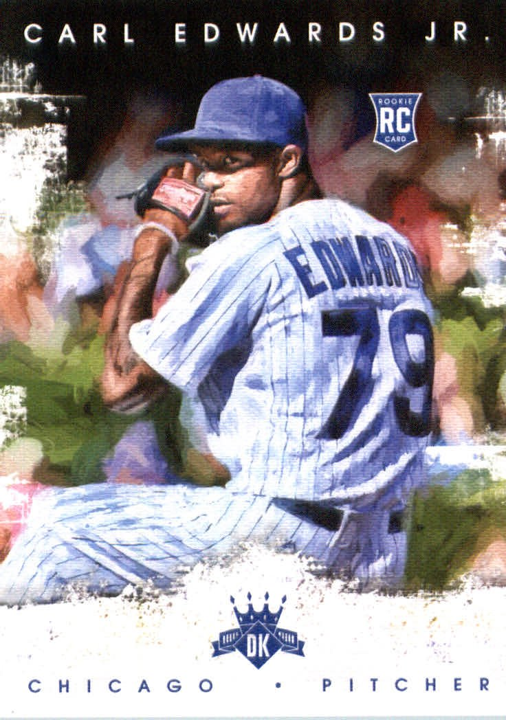 2016 Diamond Kings 168 Carl Edwards Jr. RC