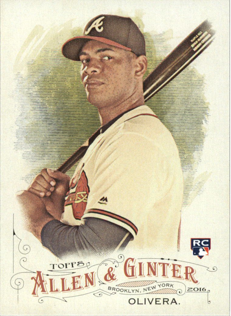 2016 Topps Allen and Ginter 232 Hector Olivera RC