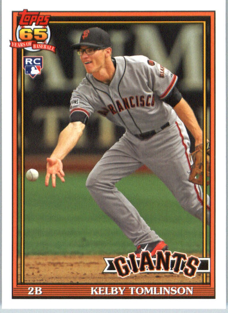 2016 Topps Archives 219 Kelby Tomlinson RC